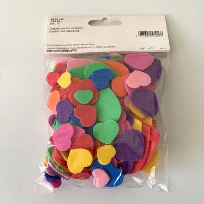 Coeurs creasoft loisirs creatifs 180 pieces
