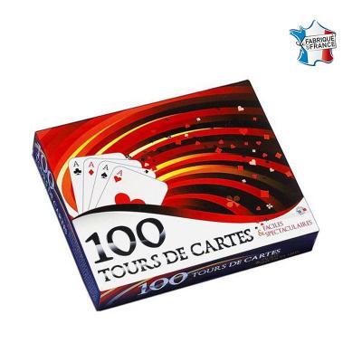 Coffret 100 tours de cartes de magie