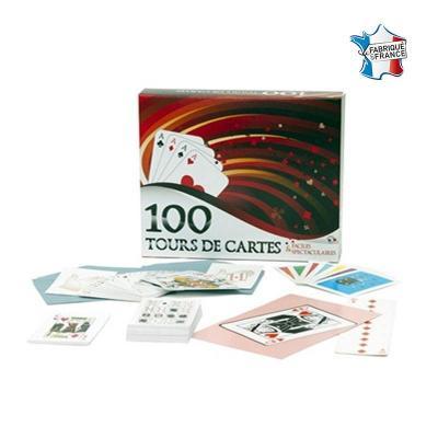 Coffret 100 tours de cartes pour faire de la magie