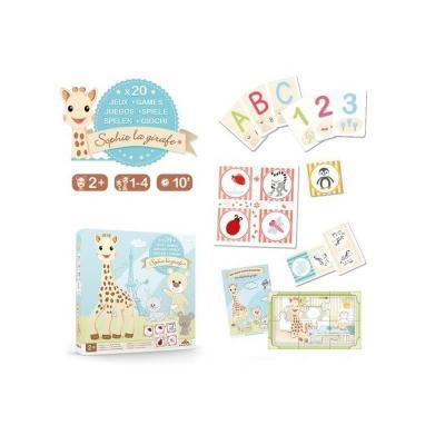 Coffret de jeux sophie la girafe des 2 ans