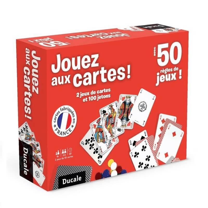 Coffret jouez aux cartes france cartes