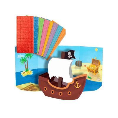 Coffret mosaique 3d bateau pirate