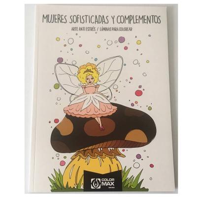 Mandala femmes, fées et compléments  - 24 dessins format A4