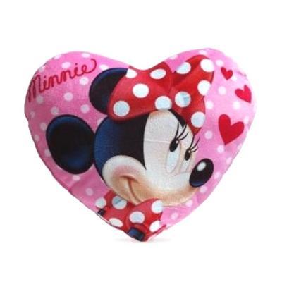 Coussin Minnie coeur Disney