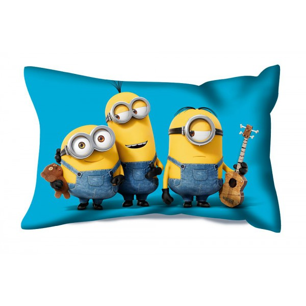 Coussin rectangulaire minions 1