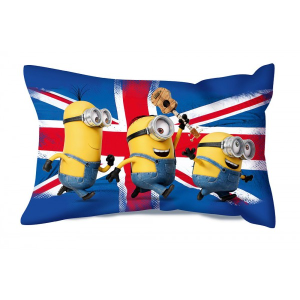 Coussin rectangulaire minions 2
