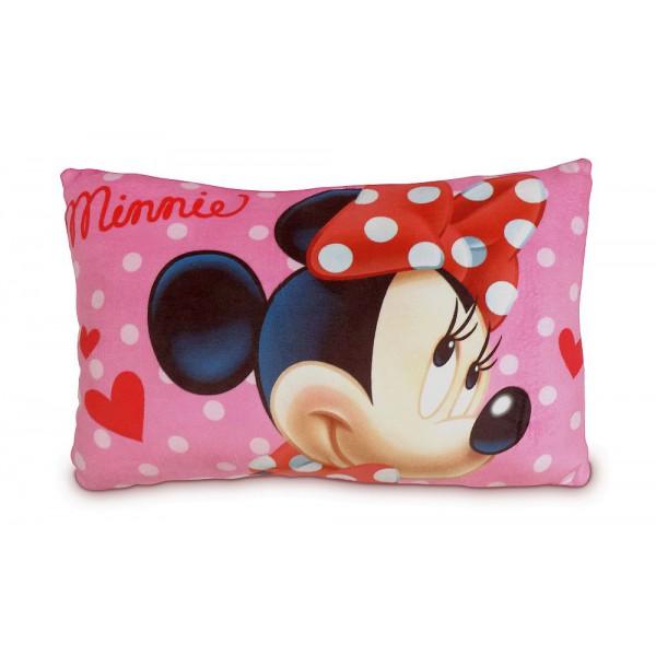 Coussin Minnie Disney en rouge
