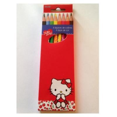 Crayons de couleur Hello Kitty - Une belle idée de cadeau enfant