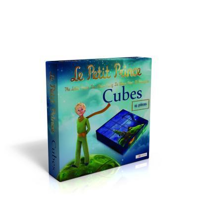 Cubes en bois : Le petit prince
