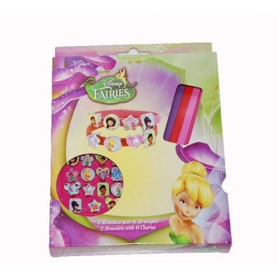Disney fairies - 3 bracelets et 18 breloques