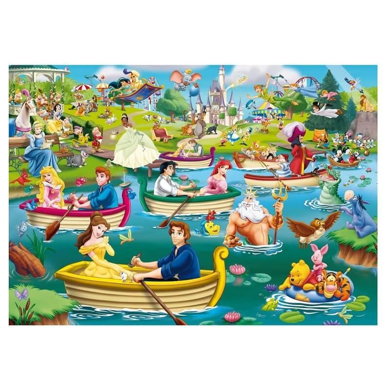Disney puzzle les plaisirs sur l eau 1000 pieces