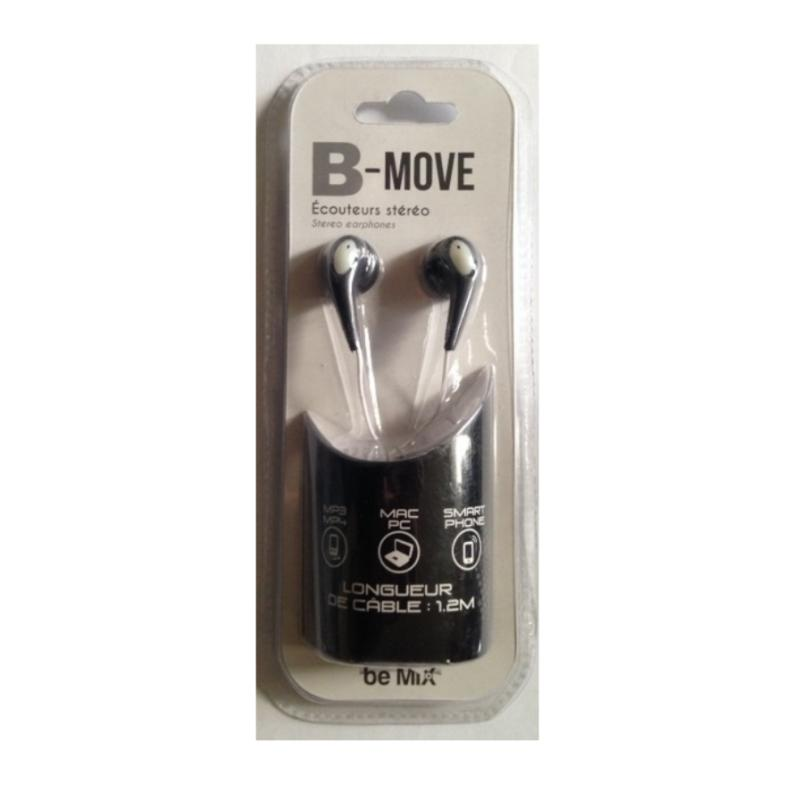 Ecouteurs stereo be move noir