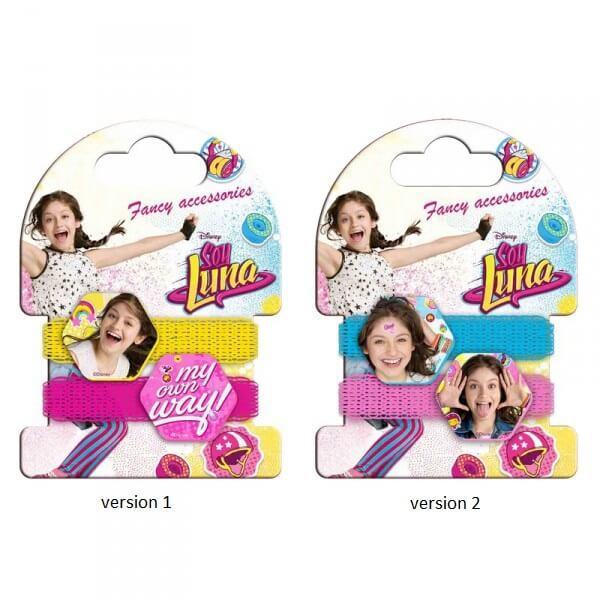Élastiques pour cheveux Soy Luna Disney