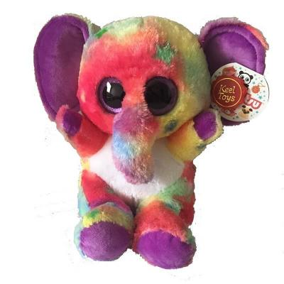Peluche éléphant aux gros yeux MAXI Animotsu Fashion Keel Toys