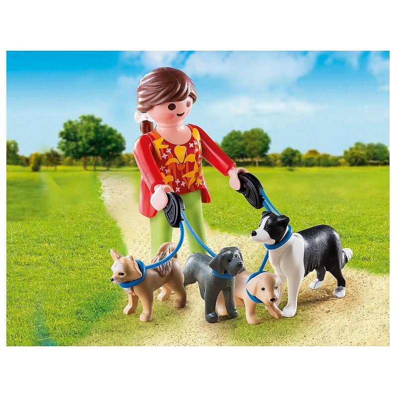 Eleveuse de chiens playmobil 5380