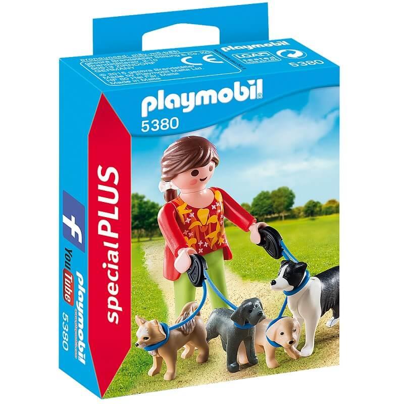 Eleveuse de chiens playmobil