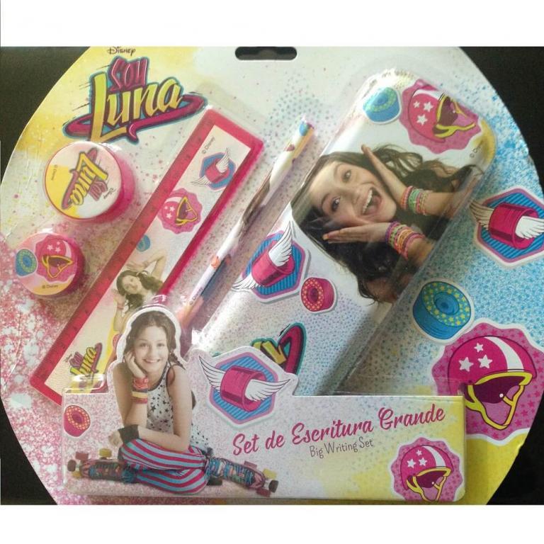 Ensemble de papeterie pour votre enfant fan de Soy Luna avec une
