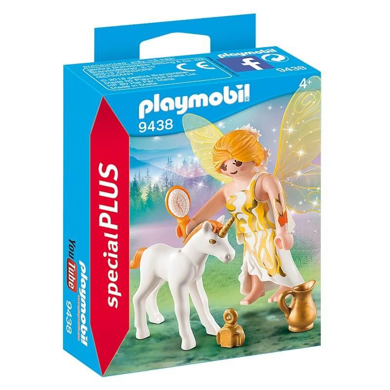 Fee et bebe licorne playmobil