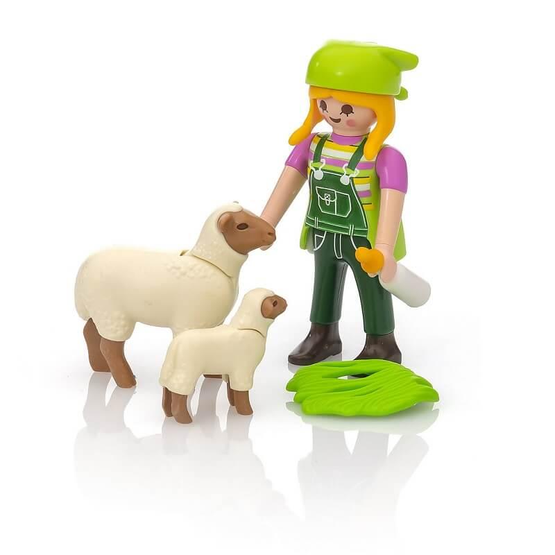 Fermiere et moutons playmobil special plus