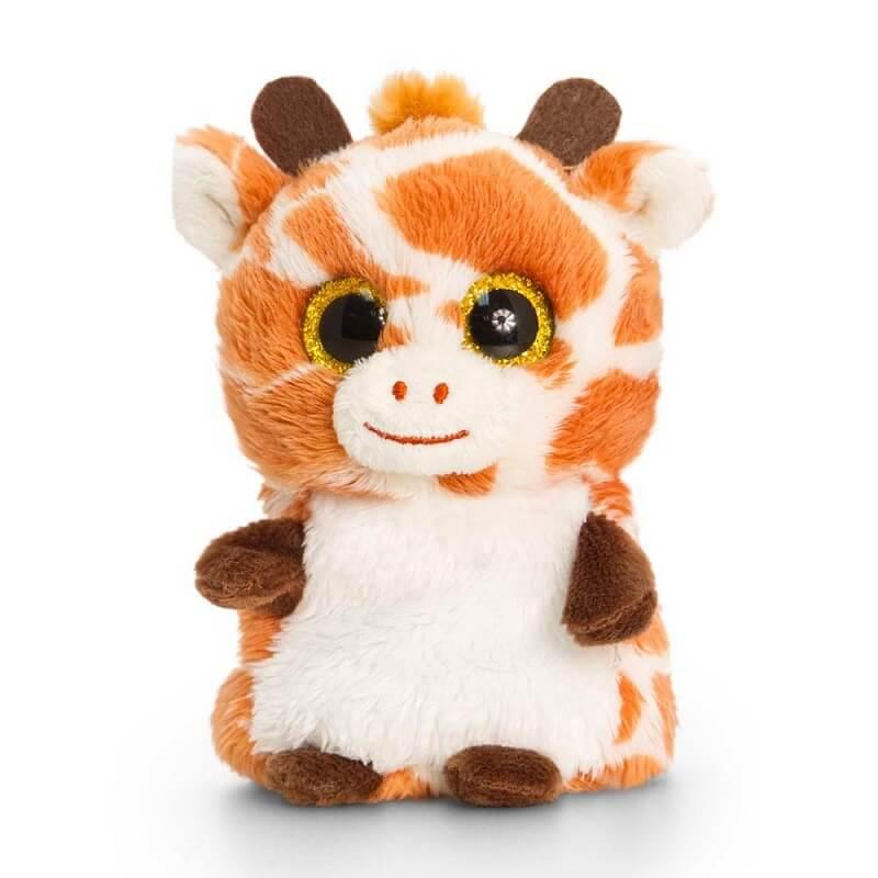 Girafe peluche gros yeux minimotsu keel toys