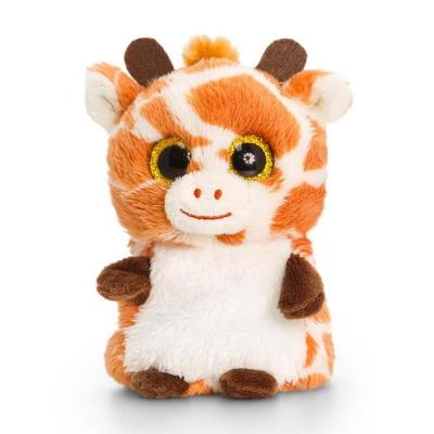 Peluche girafe aux gros yeux Mini Motsu Keel Toys