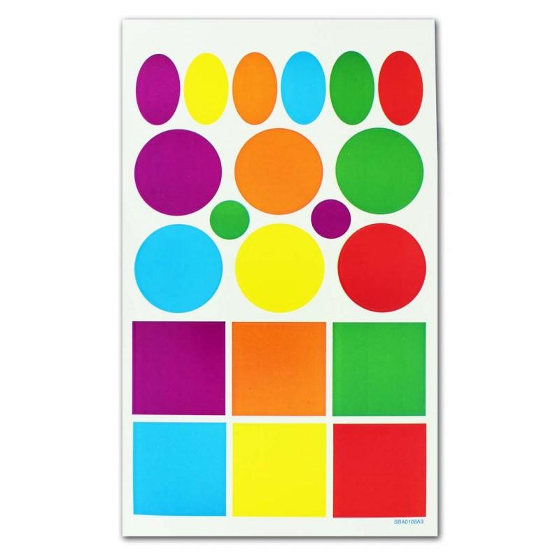 Gommettes enfant loisirs creatifs 10 planches 3