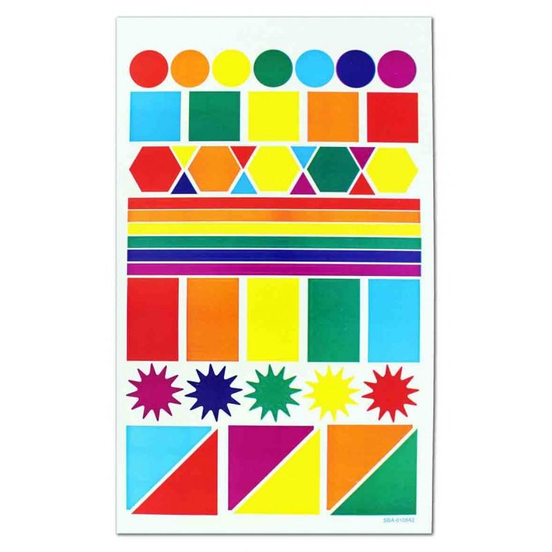 Gommettes enfant loisirs creatifs 10 planches 4