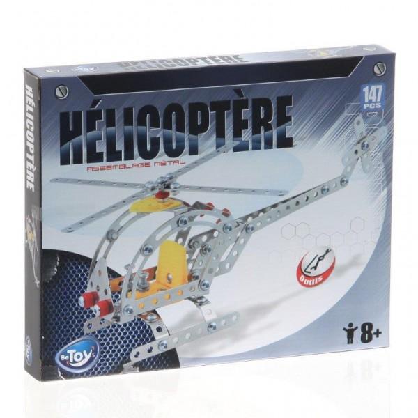 Hélicoptère métal a assembler