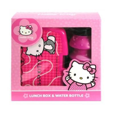 Boite à goûter et gourde Hello Kitty