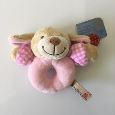 Hochet peluche chien de grande qualité Keel Toys Baby