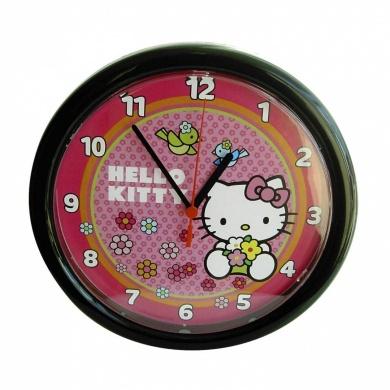 Horloge hello kitty cadeau chambre enfant