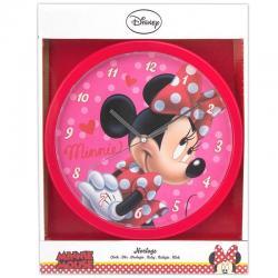 Horloge Minnie - Idée cadeau enfant décoration chambre