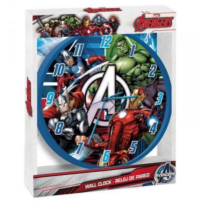 Horloge murale Avergers sous licence officielle Marvel - Idée cadeau déco.