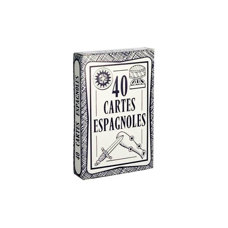 jeu de 40 cartes espagnoles ducale fabriqu en france. Black Bedroom Furniture Sets. Home Design Ideas