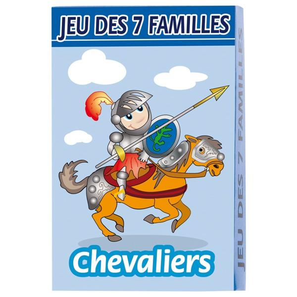 Jeu de 7 familles chevaliers