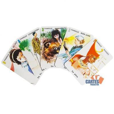 Jeu de 7 familles histoire jeu de cartes enfant