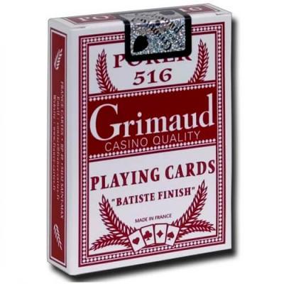 Cartes de poker haut de gamme Grimaud