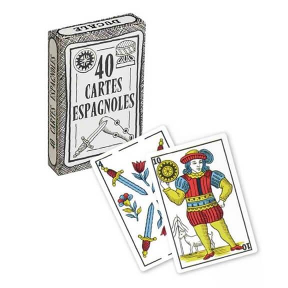 Jeu de cartes espagnoles ducale fabrique en france