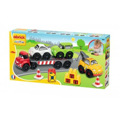 Jeu de construction enfant abrick transport de vehicules