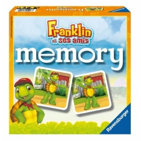 Jeu de societe grand memory franklin jouet ravensburger