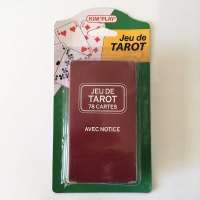 Jeu de tarot avec notice