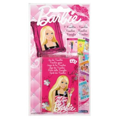 Jeu de 7 familles Barbie