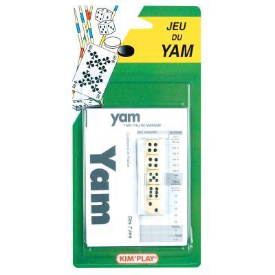 Jeu du yam a partir de 7 ans