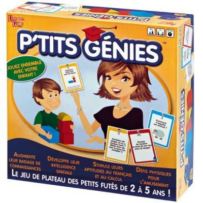 Jeu de société P'tits Génies pour enfant de 2 à 5 ans