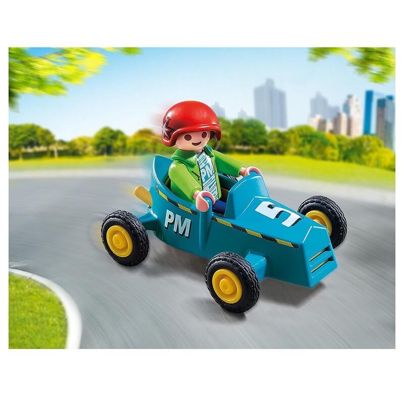 Kart et enfant playmobil