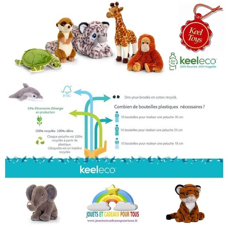 Keeleco les peluches ecologiques en matieres recyclees