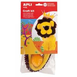 Loisirs créatifs enfant - Réalisation lion