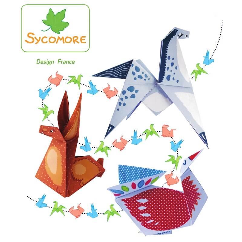 Kit creation origami 18 animaux