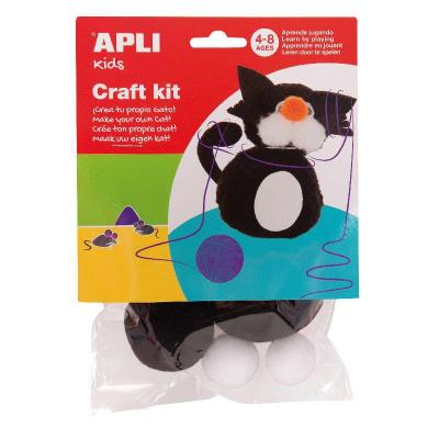 Kit de création d'un chat - loisirs créatifs enfant