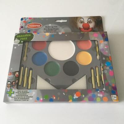 Kit de maquillage complet avec des exemples